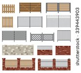fences of different structures
