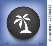 pictograph of island | Shutterstock .eps vector #339480653