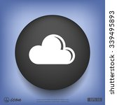 pictograph of cloud | Shutterstock .eps vector #339495893