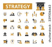 strategy  icons  signs vector... | Shutterstock .eps vector #339506663