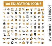 education  learning  study ... | Shutterstock .eps vector #339508007