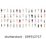 business idea united colleagues  | Shutterstock . vector #339512717
