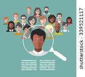 vector concept of human... | Shutterstock .eps vector #339521117