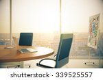 sunny conference room with... | Shutterstock . vector #339525557