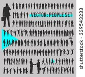 vector business people... | Shutterstock .eps vector #339543233