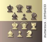 Vector Illustration Of Chess...