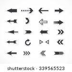 arrows set | Shutterstock .eps vector #339565523