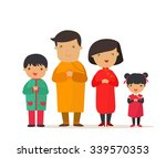 a traditional chinese new year... | Shutterstock .eps vector #339570353