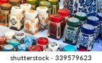 original thai craftsmanship ... | Shutterstock . vector #339579623