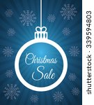 shopping christmas offers and...   Shutterstock .eps vector #339594803