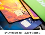 credit cards  | Shutterstock . vector #339595853