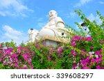 buddha statue at vinh trang... | Shutterstock . vector #339608297
