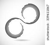 Two Circle In Loop . Geometry...