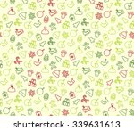 seamless pattern background... | Shutterstock .eps vector #339631613