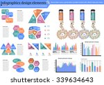 collection of infographic set... | Shutterstock .eps vector #339634643