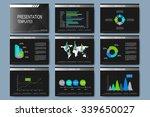 set of vector templates for... | Shutterstock .eps vector #339650027