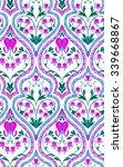 seamless elegant wallpaper... | Shutterstock . vector #339668867
