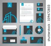 corporate identity branding... | Shutterstock .eps vector #339672833