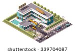 vector isometric icon or... | Shutterstock .eps vector #339704087
