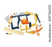 children craft activities.... | Shutterstock .eps vector #339726203