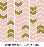 Geometric Pattern With Gold...