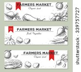 templates for label design with ... | Shutterstock .eps vector #339757727