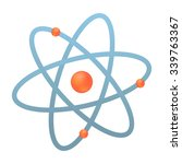 atom  logo  vector illustration | Shutterstock .eps vector #339763367