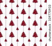 geometric monochrome seamless...   Shutterstock .eps vector #339770933
