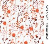 abstract seamless vector... | Shutterstock .eps vector #339775697