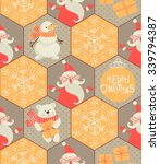 Seamless Pattern. Merry...
