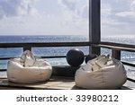 Terrace Of A Cabana Of Tulum...