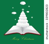 christmas fairytale  vector... | Shutterstock .eps vector #339802823