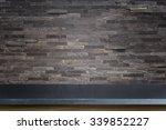 empty top of natural stone... | Shutterstock . vector #339852227