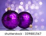 Christmas Ball On Sparkles...