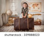 the boy in the image of a... | Shutterstock . vector #339888023