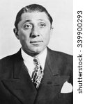 Small photo of Frank 'The Enforcer' Nitti was a first cousin of Al Capone. In March 1943 he was indicted with several other Mafioso from Chicago and New Jersey for extorting $2,500,000 from the motion picture indust