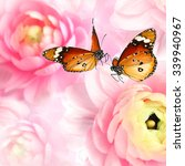Butterflies Dance On Natural...