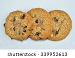 baked chewy sweet treat of... | Shutterstock . vector #339952613