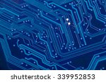 close up of electronic circuit...   Shutterstock . vector #339952853