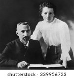 Pierre Curie And Marie...