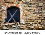 ancient window on ruins of a... | Shutterstock . vector #339959597