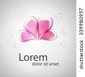 abstract logo template.... | Shutterstock .eps vector #339980957