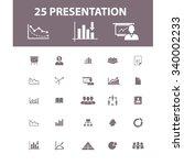 presentation  chart  diagram ... | Shutterstock .eps vector #340002233