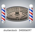 Barber Shop Vintage Design...