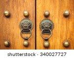 chines door | Shutterstock . vector #340027727