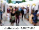 blurred background   people... | Shutterstock . vector #340098887