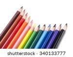 Many Colorful Pencil Like A...