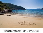 Sailboat And Sun Drawing In Th...