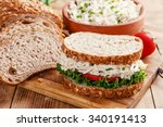 Sandwich With Chicken Salad...