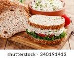 Sandwich With Chicken Salad...
